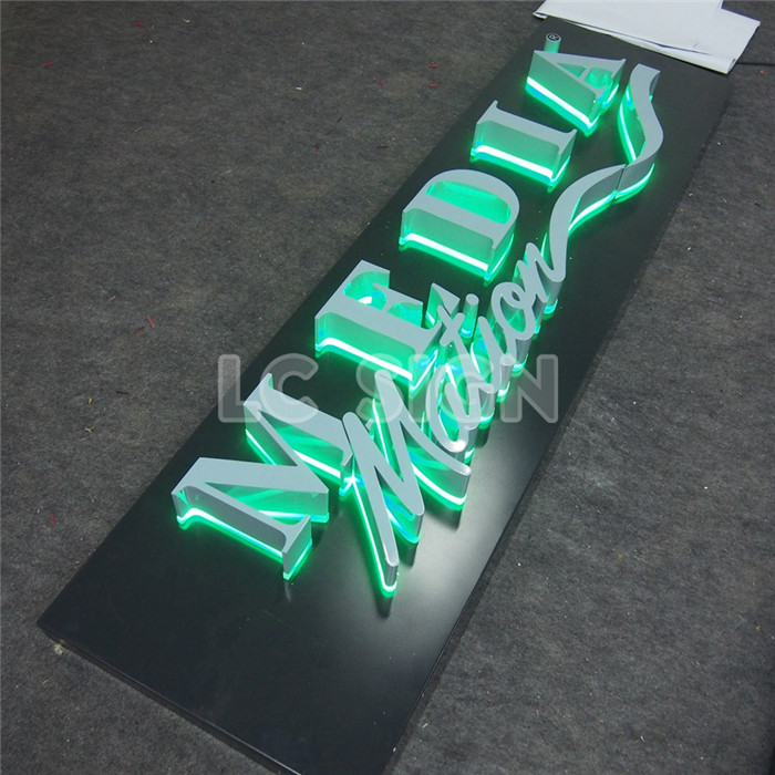 hot sale & high quality led backlit outdoor signage backlit hola letters OEM