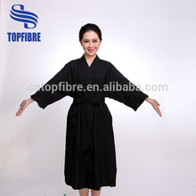 A10462 Hair Cutting Capes Kimono Waffle Weave Bath Robe for all salon service
