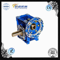 RV series worm gear speed reducer gearbox for lawn mower