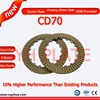 Factory brown clutch plate,cheap price China clutch plate,motorcycle parts high quality clutch plate