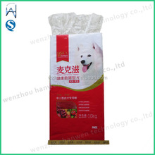 laminated 10kg pp woven dog food packing bag with liner