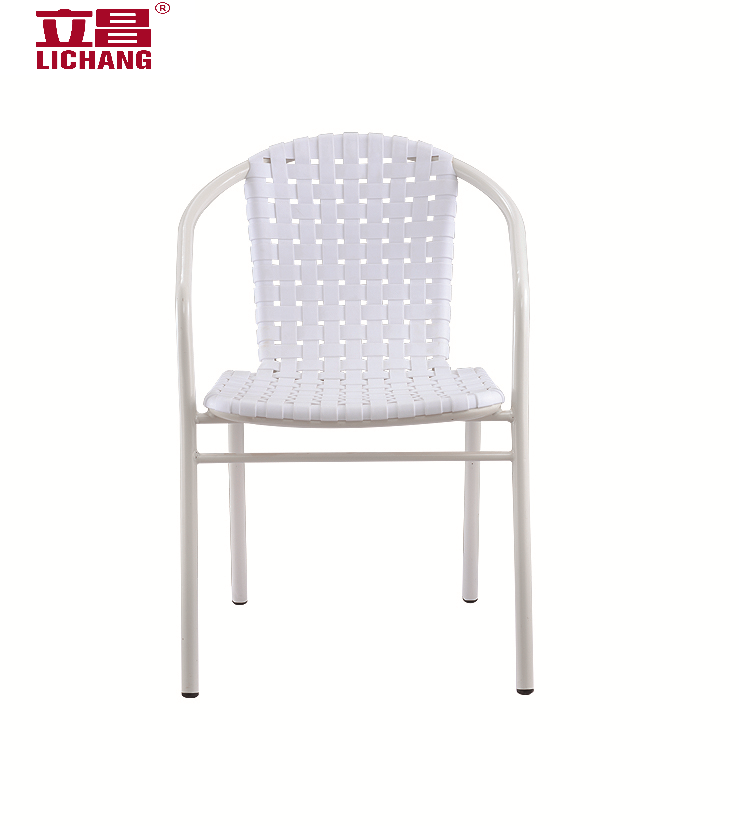 Low price colorful imitation rattan plastic garden chair