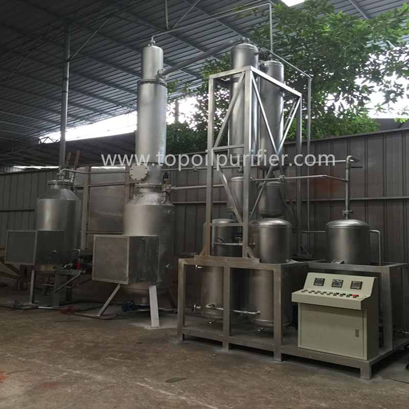 Remove Metallic Compound/ Base Nitrogen/ Sulfur, No Bad Smell, Engine Oil/ Tyre Oil Cleaning Machine