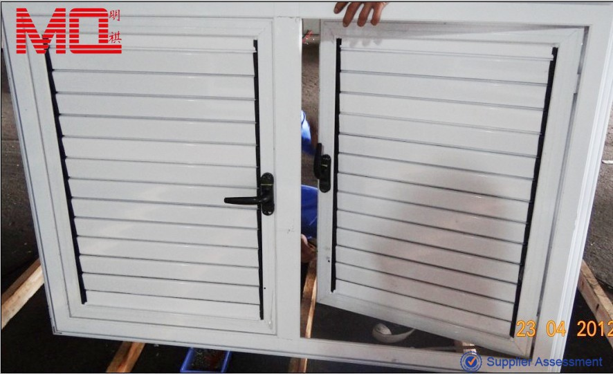 Manual aluminum louvered windows for sale