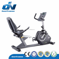 2016 new design commercial gym fitness equipment Exercise Recumbent bike