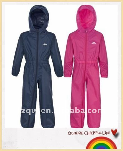 Kids Polyester or Nylon overall