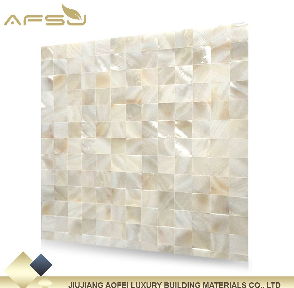 Manufacturer of white shell mosaic tile