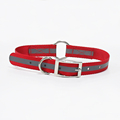 Comfortable adjustable new design dog collar with reflective strap newest hunting small buckle