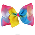 Best Selling Cute Rainbow Hair Bows For Kids With Clips BH1531-X