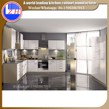 ZH Modular DIY custom High Gloss Acrylic Kitchen Cabinet Furniture