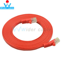 Factory Price Red Flat Bare Copper UTP CAT 6 Cable