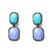 alibaba china big lucite stone vintage gold plated earrings gold jewelry