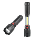 Bright Light Zoomable COB skyray flashlight