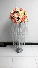 JL- 034 crystal bead flower stand of wedding decorations