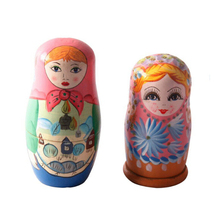 FQ brand wholesale Fashion handmade new custom matryoshka dolls for kids cheap wooden russian nesting doll