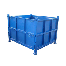 china supplier collapsible metal crown storage boxes
