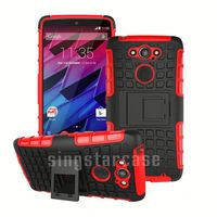 Hot Selling Heavy Duty Tire Grain Shockproof Kickstand Case for Motorola Droid Razr M XT907