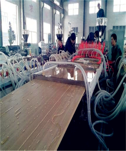 PVC plastic board furniture plate construction template Decorate plank equipment/production line