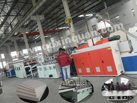 Factory price high PVC skirting board making line,gypsum board production line
