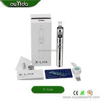 free shipping best price G Pro mechanical cigarette dry herb vaporizer big vapor e-cigarette