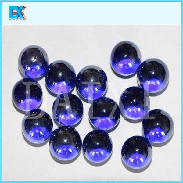 Decorative colored round glass ball buy