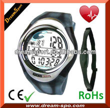 2013 New fashion popular series heart rate monitor with alarm clock
