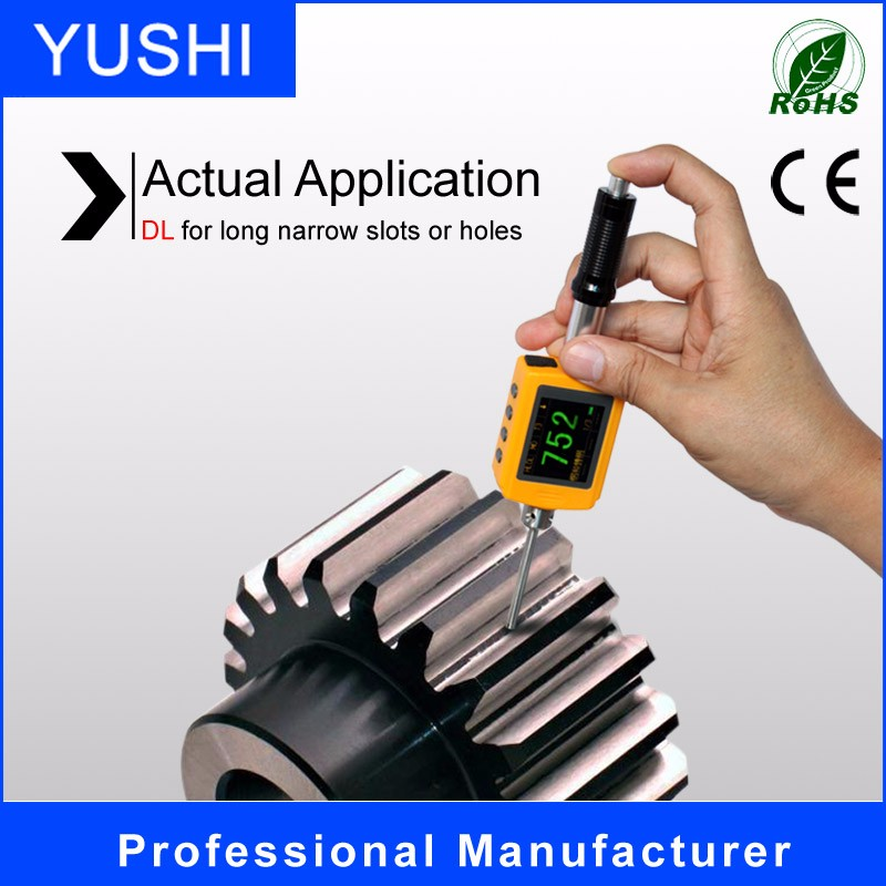 digital leeb copper and zinc hardness tester with CE ROsh certification LM300/330