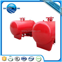 welded carbon steel foam bladder tank system factory price viking like