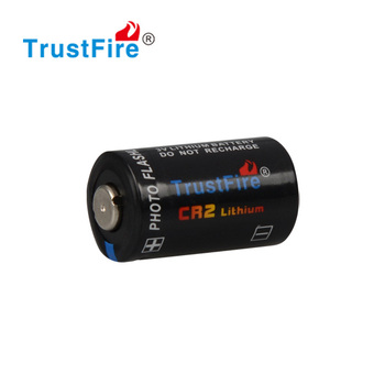 3V lithium photo flashlight lithium TrustFire CR2 Li-ion battery camera 900mAh non-rechargeable battery