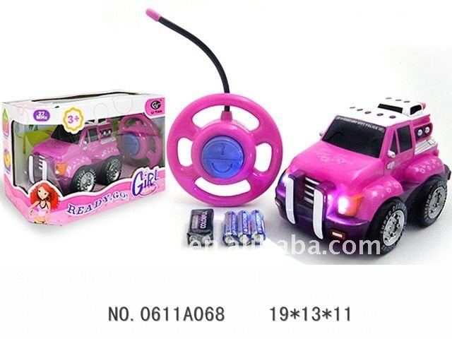 2function remote control cartoon girl trailer/radio controlled tractor trailers