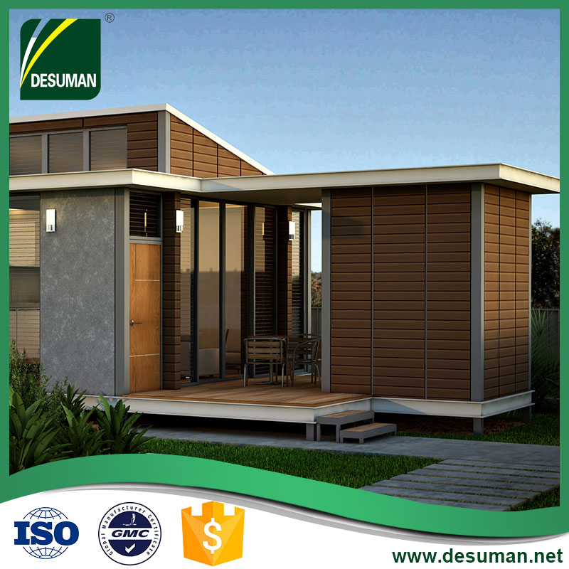 DESUMAN chinese price luxury house kits building prefabricated villa steel prefab house