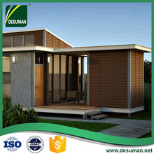 luxury house kits building prefabricated villa steel prefab house