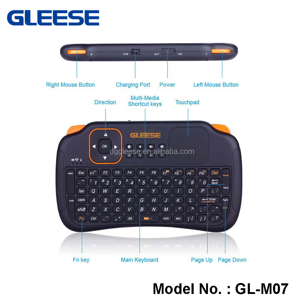 2016 best selling Rii Mini x1 2.4Ghz Wireless i8 Keyboard with Mouse for Google TV rii i8 air mouse soccer tv box
