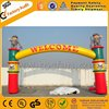 Popular inflatable arch decoration inflatable entrance arch F5056