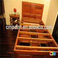 High information Paint wood bedroom furniture-smooth glossing surface -wood paint manufacturer