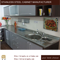 Mingchu kitchens cheap goodshigh quality stainless steel cabinet