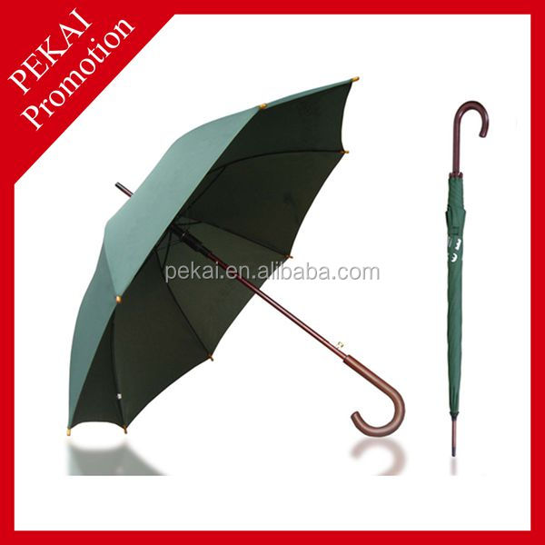 23'' 8K Automatic Straight Hotel Umbrella For Promotion Gift
