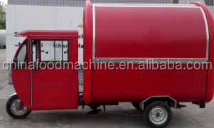 Mobile Food Cart , Stainless Steel Mobile Food Cart , Electric tricyle motorcycle Food Cart