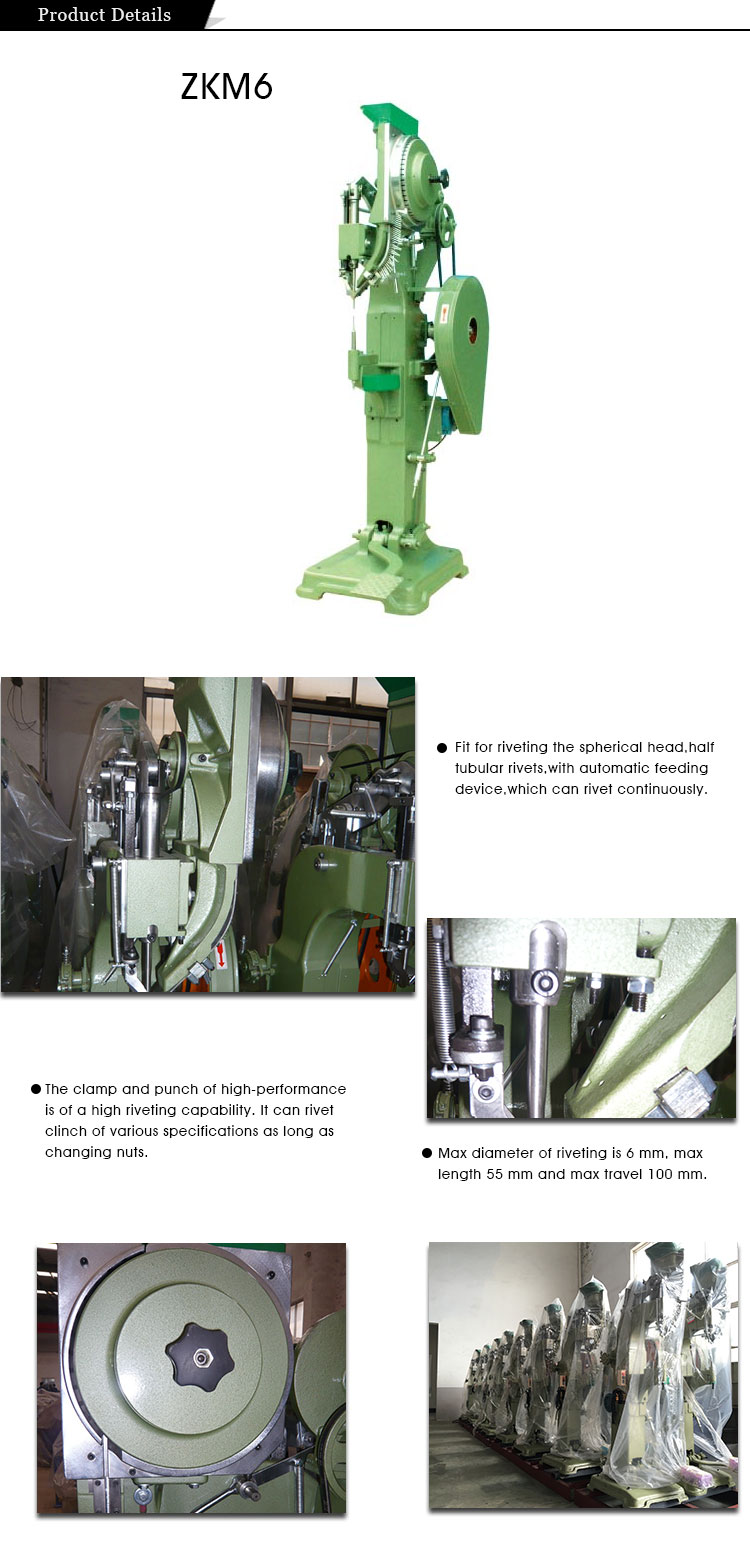 High Speed Auto Feeder Hollow Riveting Machine