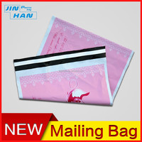 Pink Self Adhesive UPS Poly Mailer Envelopes
