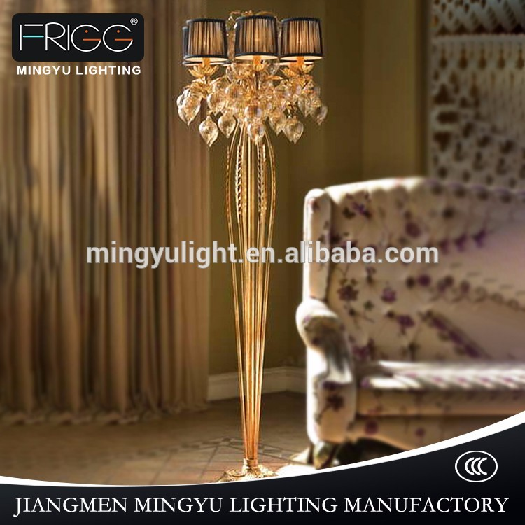 glass iron led pendant light antique floor lamp