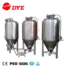 Conical SUS304 Stainless Steel Commercial Pub Used Beer Brewery Equipment Fermenter Tank for sale
