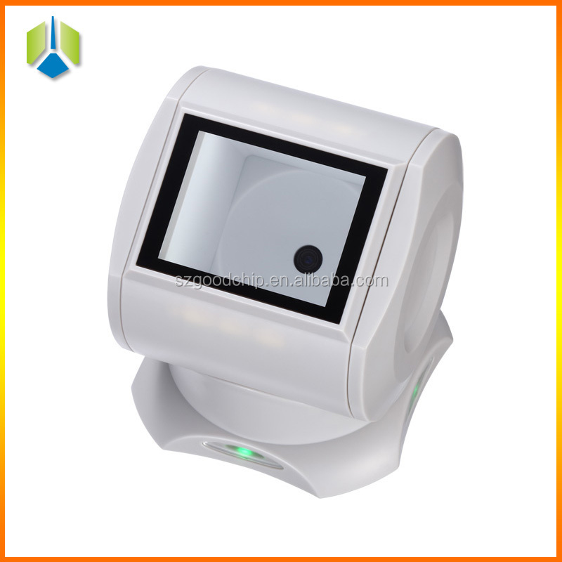 Portable 1D/2D scanner in supermarket barcode scanner with display GC001