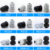 IP68 waterproof plastic nylon cable gland size chart