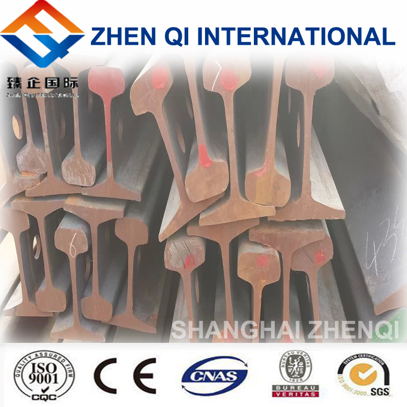 18kg/m railroad steel rail on sale with Chinese standard