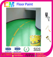 Construction project epoxy self-leveling floor paint for packing lot for sale