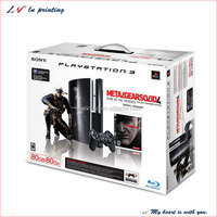 high quality packaging boxes ps3 with handle for sale