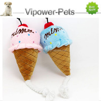Cartoon Animal Pet Toy Ice Cream Dog Toys Cat Audible Sound Toys - Pet Product Free shipping