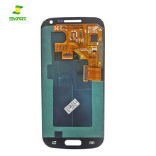 Top Quality New Wholesale Blue LCD Assembly Display Touch Screen Digitizer Replacement without frame For Samsung Galaxy S4 Mini
