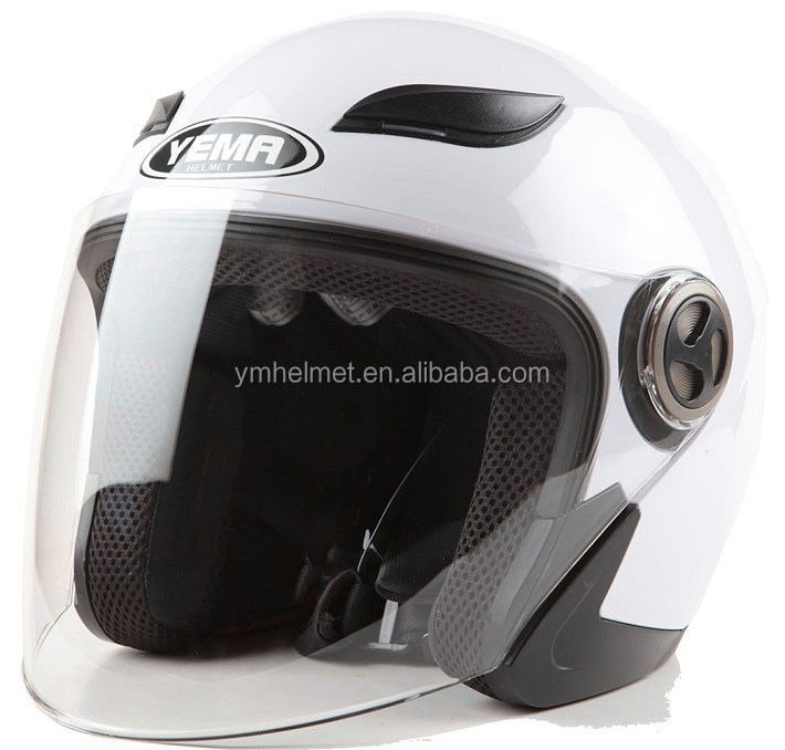ABS material DOT approved cheap price open face motorcycle helmet for sale